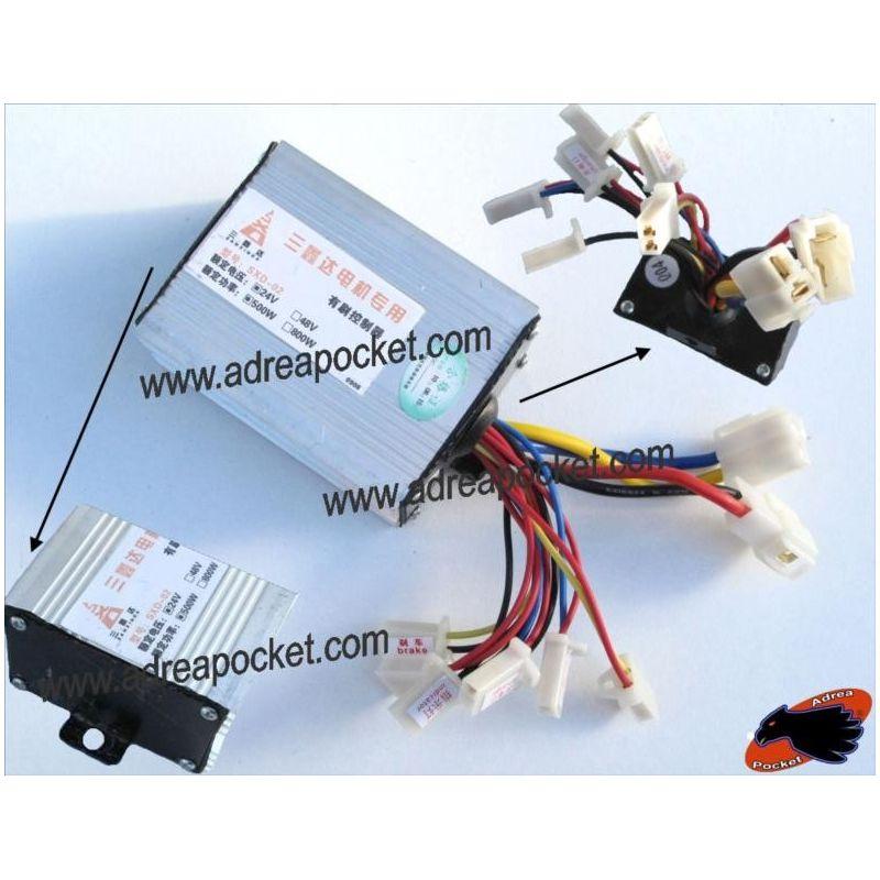 Controleur de tension 24 volts 500 watts trottinette electrique - Controleur de consommation electrique ...